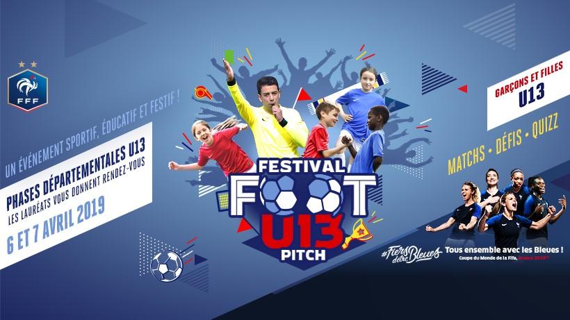 Affiche du Festival U13 Pich